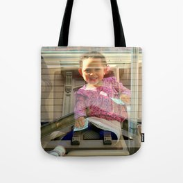 The Angel Upstairs Tote Bag