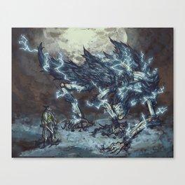 Darkbeast Paarl Canvas Print