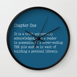 Chapter One - Blue Wall Clock