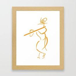 Krishna Art Graphic Framed Art Print