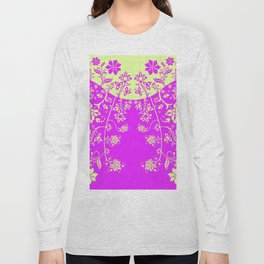 floral ornaments pattern rgip120 Long Sleeve T-shirt