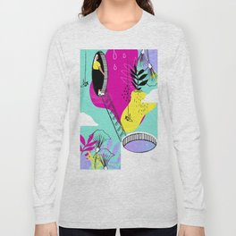 Daydreaming in ChromaCity Long Sleeve T-shirt