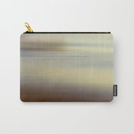 Ocean wind. Abstract sea blurred design Carry-All Pouch
