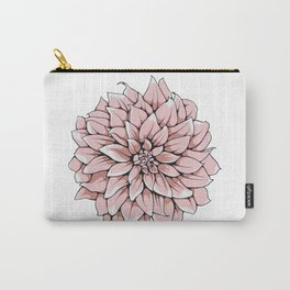 Big Georgina Flower Carry-All Pouch