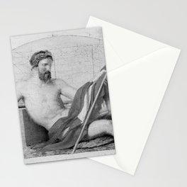 Christoffer Wilhelm Eckersberg - Neptun Stationery Cards