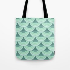Ocean Fan Tail. Tote Bag