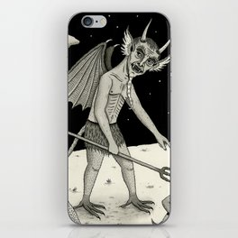 A Diabolical Act of Persuasion iPhone Skin