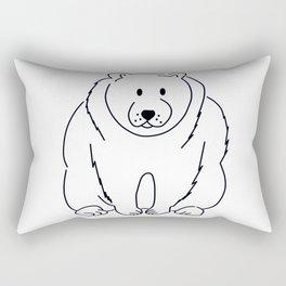 cute bear Rectangular Pillow