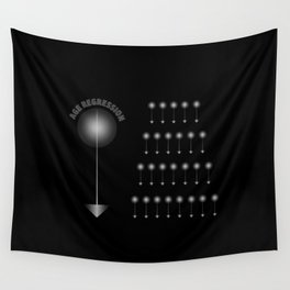 AGE REGRESSION Wall Tapestry