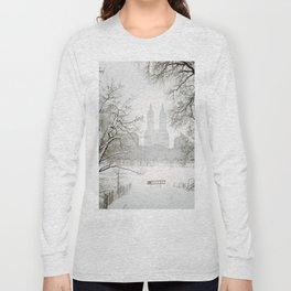 Winter - Central Park - New York City Long Sleeve T-shirt