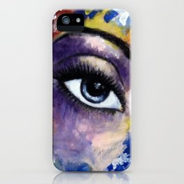 Title: Very Beautiful Eye painting iPhone Case