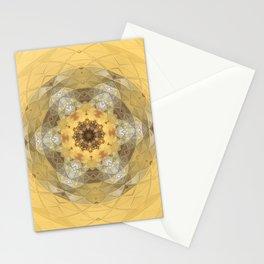 Golden Octavian Mandala Stationery Cards