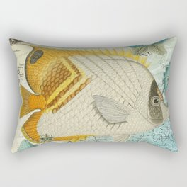 Angel Fish Rectangular Pillow