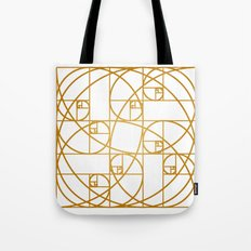 Golden Ropes Tote Bag