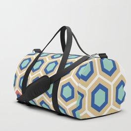 Digital Honeycomb Duffle Bag