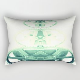 Oil the wheels Rectangular Pillow