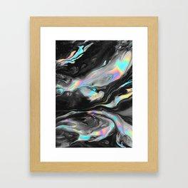 BROKEN + DESERTED Framed Art Print