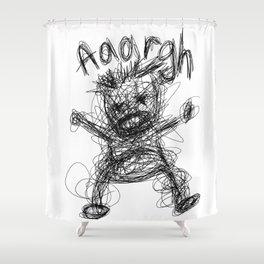 Aaargh!! Shower Curtain
