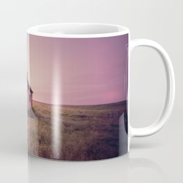 Abandoned Stone House on The Prairie Coffee Mug
