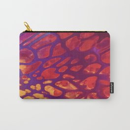 Magenta Gold Carry-All Pouch