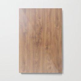 Dark timber pattern Metal Print