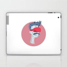 Sci-Fi Virtual Reality Headset Guy Laptop & iPad Skin