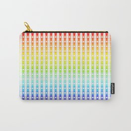 Rainbow Lines Carry-All Pouch