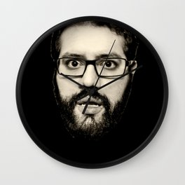 Resting Mitch Face Wall Clock