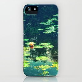 Lily Pond II iPhone Case