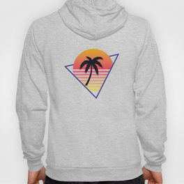 Retrowave sunset 3 / 80s - 90s Retro Hoody