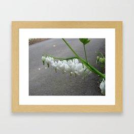 Mini Hearts Framed Art Print