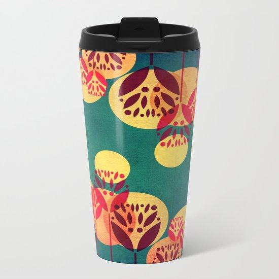 Fall is here Metal Travel Mug
