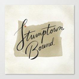 Stumptown Bound Canvas Print