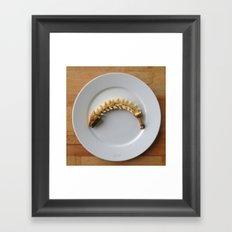 Banana Fishbone Framed Art Print