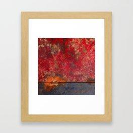 REDCLOUD Framed Art Print