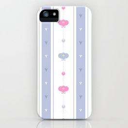 Soft Flowers Wallpaper iPhone Case