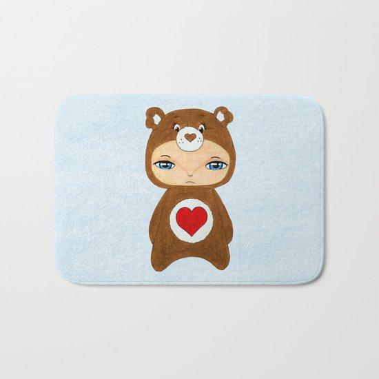 A Boy - Tenderheart Bear Bath Mat