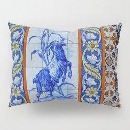 Goat Vintage Mosaic Tiles Pillow Sham