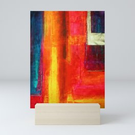 Philip Bowman Color Fields II Modern Abstract Art Painting Mini Art Print