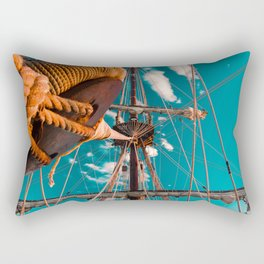 El Galeón Rectangular Pillow
