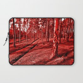 Red Forest Sound Laptop Sleeve