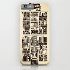 Ezekiel 25:17 iPhone 6 Slim Case