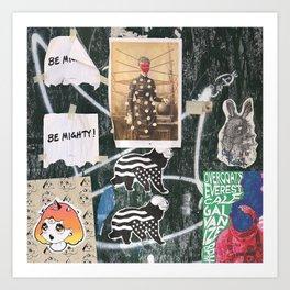 Lower East Side Wall Art Print