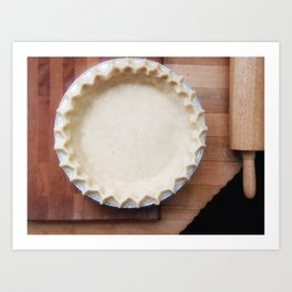 PIE CRUST Art Print