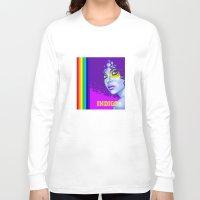 indigo Long Sleeve T-shirts featuring INDIGO by Marcus Wild