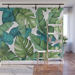 Tropical leaves II Wall Mural
