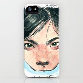 Bjørk in Milk iPhone Case