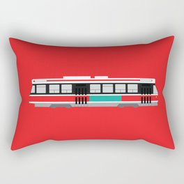 Toronto TTC Streetcar Rectangular Pillow