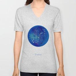 Constellation Scorpius Unisex V-Neck
