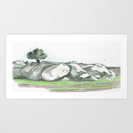 Wiacubbin Sketch - 1 of 4 Art Print